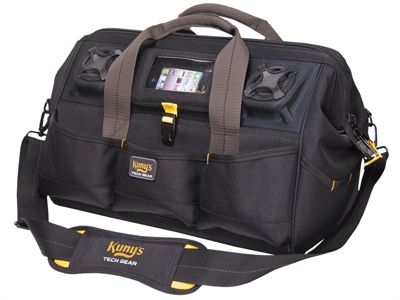 Kunys A233 Tech Gear Stereo Speaker Megamouth Tool Bag 45cm (18in)