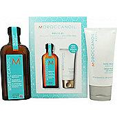 Moroccanoil Gift Set 125ml Light Hair Treatment + 75ml Hand Cream