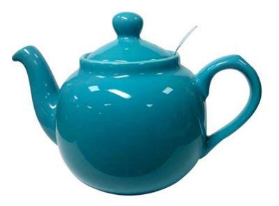 London Pottery Traditional 4 Cup Farmhouse Filter Teapot Aqua 17273402