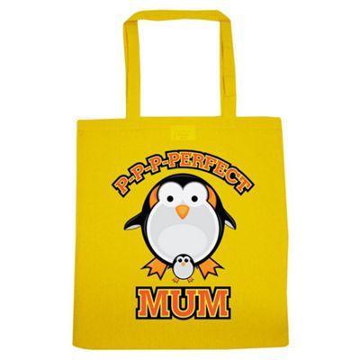 P-P-P-Perfect Mum Tote Bag Yellow