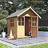 4x4 BillyOh Bunny Max Children Wooden Playhouse Outdoor - Premium 4ft x 4ft
