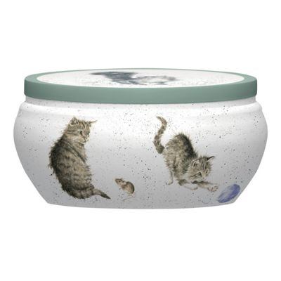 Wrendale Boutique Tin Candle, Cat and Mouse