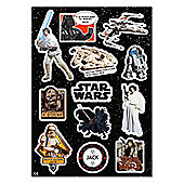 Star Wars Saga Personalised Sticker Set