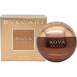 Bvlgari Aqva Amara Eau de Toilette (EDT) 50ml Spray For Men