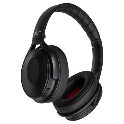 Kitsound Immerse Noise Cancelling Bluetooth Headphones Black