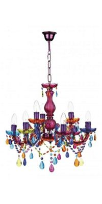Buy large multi coloured chandelier light fitting from our large multi coloured chandelier light fitting aloadofball Image collections