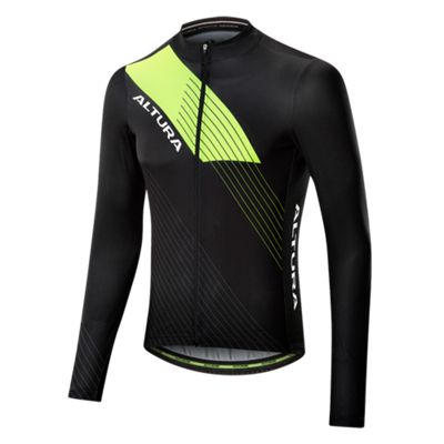 Altura Sportive LS Jersey Black Size: M