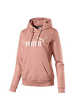 Puma Essential No.1 Womens Ladies Sports Hoodie Hoody Jacket - Pink
