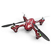 Hubsan X4 Mini Quad Led Red W/hd 720p Camera 4ch 2.4ghz Item# H107CHD-R