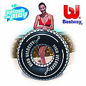 Bestway 110cm Inflatable Tyre Tube
