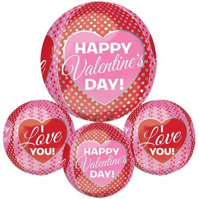 Valentine's Pink & Red HVD Orbz