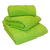 Luxury Egyptian Cotton Bath Sheet - Lime