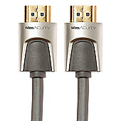Techlink 720202 2m HDMI Grey cable