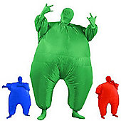 AirSuits Inflatable Fat Chub Suit Second Skin Fancy Dress Party Costume - GREEN