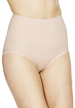 F&F Magic Seamfree High Waisted Shaper Briefs - Nude