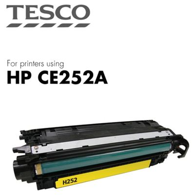 Tesco - HP Color Lj Ce252A Cart - Yellow