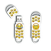 Integral Xpression 32GB USB 2.0 Flash Drive - Emoji