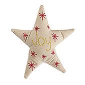 Joy Star Clip On Christmas Tree Topper
