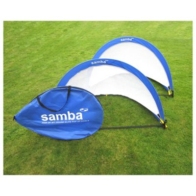 buy samba 4ft pop up football goals x2 from our football. Black Bedroom Furniture Sets. Home Design Ideas