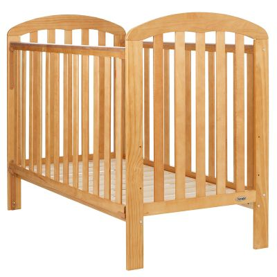 Obaby Lily Cot and Mattress - Pine