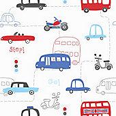 Transport Bedroom Wallpaper
