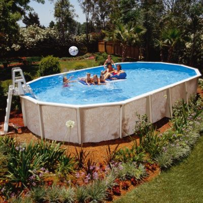 Doughboy Premier Oval Steel Pool 28ft x 16ft With Super Kit