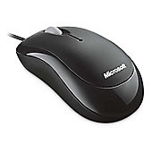 Microsoft Basic Optical Mouse - Black - PC