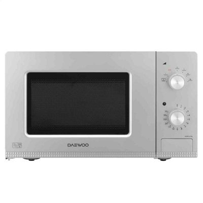 Daewoo KOR7LC7SL 20Lt 800W Manual Control Microwave Silver