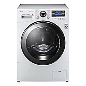 LG Freestanding Washer Dryer FH695BDH2N Wash: 12kg Dry: 8kg Load in White