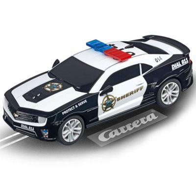 Carrera Go Chevrolet Camaro Sheriff 64031 1:43 Slot Car