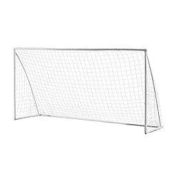 Woodworm 12' X 6' Portable Plastic Football Goal Inc. Net