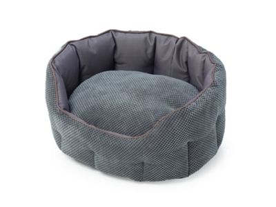Cord & Water Resistant Oval Snuggle Bed - S