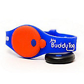 Buddy Tag Child Tracking Device Wristband - Blue Silicone