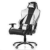 AK Racing K7002 Premium Gaming Chair - Black / Silver