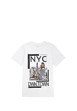 F&F NYC Graphic T-Shirt - White