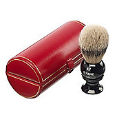 Kent Medium Sized Silvertip Shaving Brush - BLK4 Black