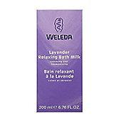 Weleda Lavender Relaxing Bath Milk - 200ml