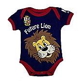 British & Irish Lions Rugby Baby Bodysuit - Navy - Navy