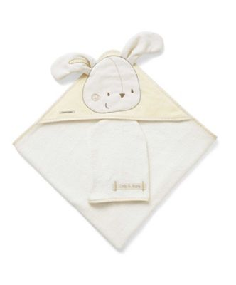 Mamas & Papas - Zeddy & Parsnip - Hooded Towel & Mitt