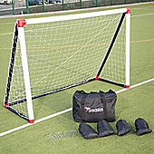 Precision Training Inflatable Football Soccer Goal Post (6' x 4')