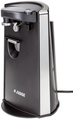 Judge Electric Can Opener Knife Sharpener Bottle Opener in Black 3in1
