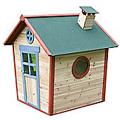 Redwood Lodge Wooden Playhouse, Children's Painted Wendy House