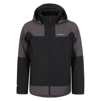 Icepeak Mens Lam Insulated Jacket Charcoal 2XL