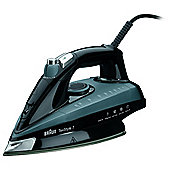 Braun TS745A TexStyle 7 Steam Iron with 150g Steam Shot, 2400w- Black