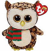 TY Beanie Boo Plush - Wise the Owl 15cm