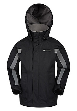 Mountain Warehouse Samson Waterproof Jacket - Black