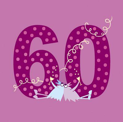 Holy Mackerel Greetings Card- 60th Birthday