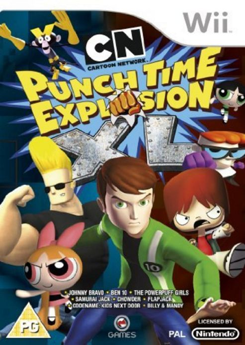 Cartoon Network : Punch Time Explosion