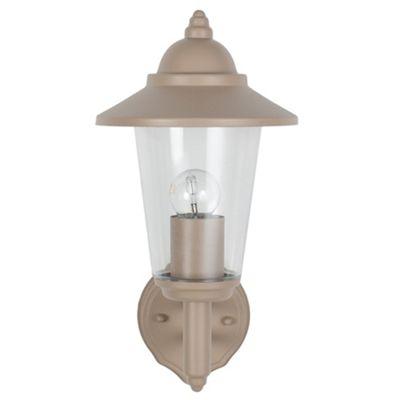 Taupe Lantern Outdoor Lighting Wall Light Classic Design