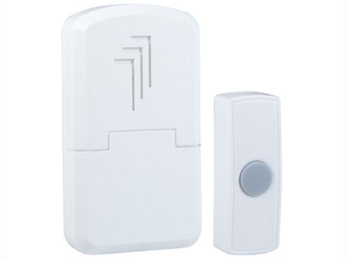 Byron Db301 W/F Portable Door Chime Kit 30M